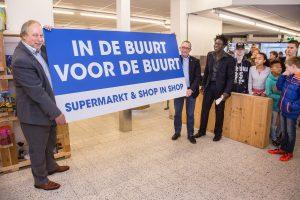 16-077 Opening Buurtsuper Lelystad Haven 1 -   Fotostudio Wierd